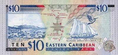 Dominique Le Dollar Monnaie Dominicaine