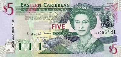 Sainte Lucie Le Dollar Monnaie De Sainte Lucie