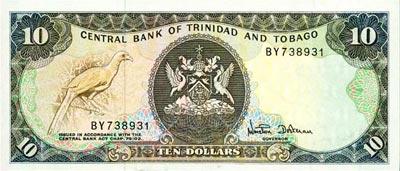 Trinidad et Tobago : Le Dollar - Monnaie de Trinidad et Tobago
