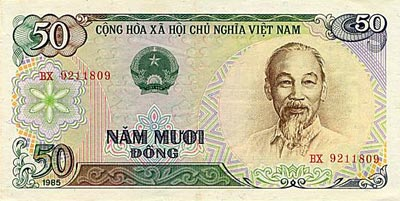 vi t nam le dong monnaie vietnamienne. Black Bedroom Furniture Sets. Home Design Ideas