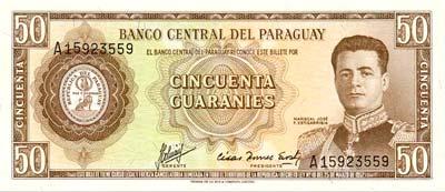 Paraguay : Le Guarani - Monnaie Paraguayenne