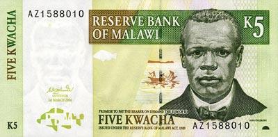 Malawi forex exchange rate