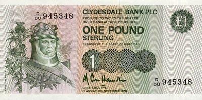 Écosse : La Livre - Monnaie Écossaise