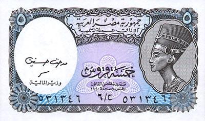 Egypte : La Livre Egyptienne - Monnaie Egyptienne