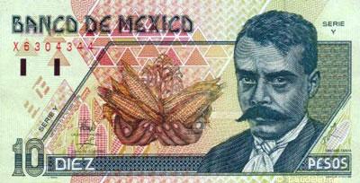 Mexique : Le Peso - Monnaie Mexicaine