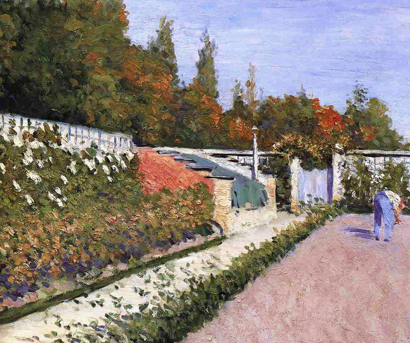 Gustave caillebotte le jardinier 1877 for Le jardinier