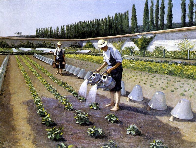 Gustave caillebotte les jardiniers 1877 for Jardin de jardiniers